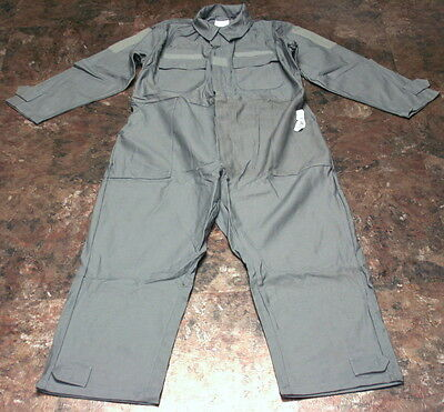 US Military UTILITY COVERALLS Zipper Foliage Green Paintball Hunting MEDIUM NEW