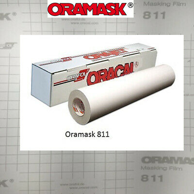 "ORAMASK 811 Paint/Spray Mask Stencil Film, Removable Adhesive, 15""/24""/30""/48"""