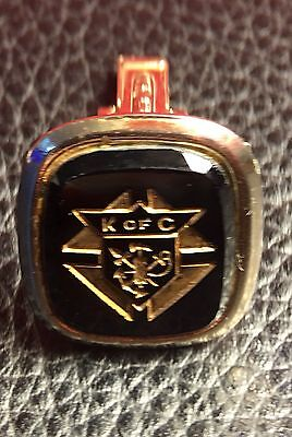 Vintage Knights Of Columbus Single Cuff Link