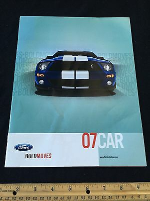 2007 Ford Sales Brochure Mustang Focus Fusion Five Hundred