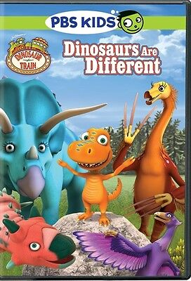 DINOSAUR TRAIN DINOSAURS ARE DIFFERENT New Sealed DVD PBS