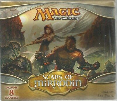 Magic the Gathering MTG SCARS OF MIRRODIN Factory Sealed Fat Pack - Brand New