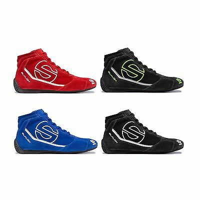 Sparco Slalom RB-3 Race / Racing / Rally Driving Suede Boots / Shoes