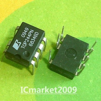 1 pc TOP243G  TOP243GN TOP242  Off-Line-Switcher  SMD8  Power Integration  NEW