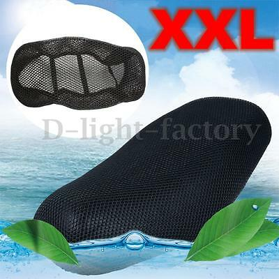 3D XXL WATERPROOF MOTORCYCLE MOTORBIKE SCOOTER Net SADDLE SEAT COVER PROTECTOR