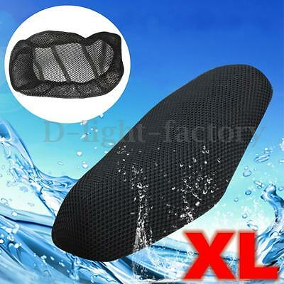 3D MOTORCYCLE MOTORBIKE SCOOTER Breathable Net SADDLE SEAT COVER PROTECTOR XL