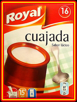 Spanish -  Cuajada  4 Sachets X 16 Portions - *** Tasty Dessert ***