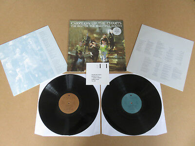 THE BEAUTIFUL SOUTH Carry On Up The Charts 2x LP ORIGINAL 1994 UK 1ST PRESSING