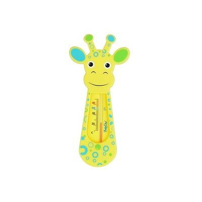 BabyOno BATH THERMOMETER Baby Safety Floating Thermometer Toy Giraffe