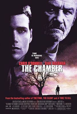 The Chamber (1996) Original Movie Poster 27x40 Double Sided Chris O'Donnell