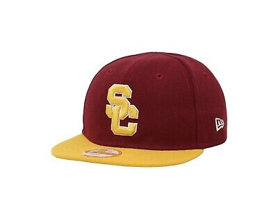 NEW ERA My 1st USC Hat College 950 Snapback Cap One Size Red Infants