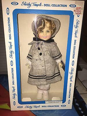 "1983 Ideal, Shirley Temple 12"" ""Dimples"" Sleepy Eye Doll ~ In Box, Never Removed"