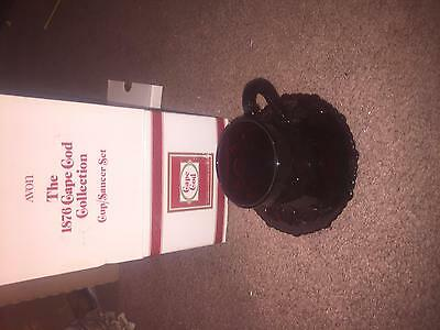 Avon The 1876 Cape Cod Collection Cup And Saucer Set Nib
