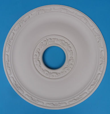 Ceiling Rose Lightweight Resin (Not Polystyrene) 'July' Size 405mm *FREE P&P*
