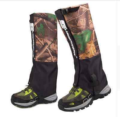 Snake Gaiters Survival Hiking Army Military Camping Chaps Camouflage Hunting Pro