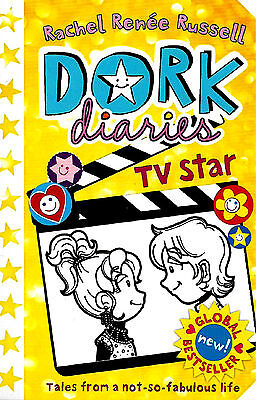 TV Star (Dork Diaries Book 7) by Rachel Renee Russell (Television) New Diary P/B