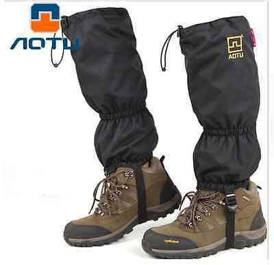 Snake Gaiters Survival Hiking Camping Chaps Cycling Snow Waterproof Trekking Leg