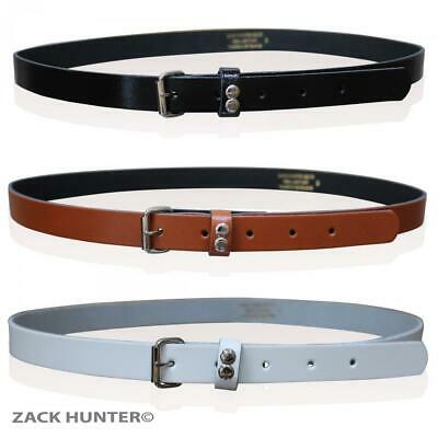 Childrens Leather Skinny Belts Kids Belt Girls Roller Buckle Made In England