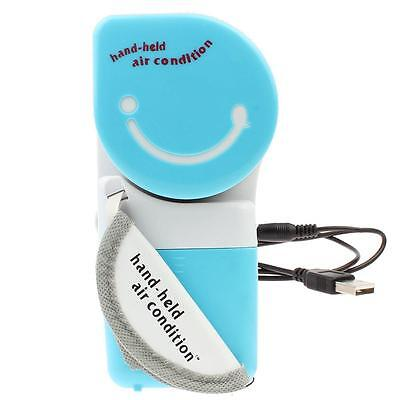 Portable Mini Air Condition USB Rechargeable Water Cooling Fan Handheld Cooler