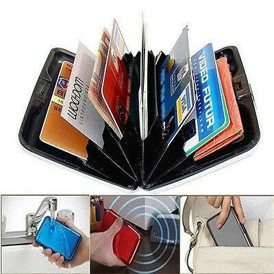 NEW Waterproof Business ID Credit Card Wallet Holder Aluminum Metal Pocket Box