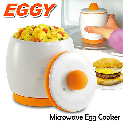 how to make fluffy eggs in microwave