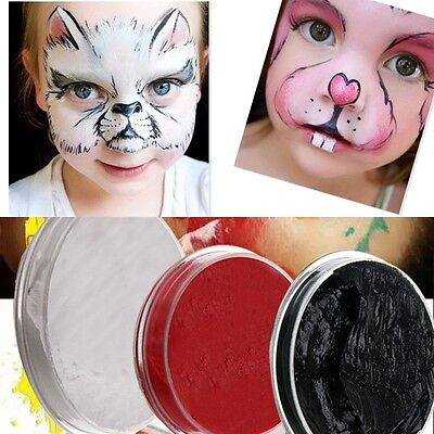 6ml Make Up Face Body Paint Color Palette Fun Halloween Party Fancy Painting Kit
