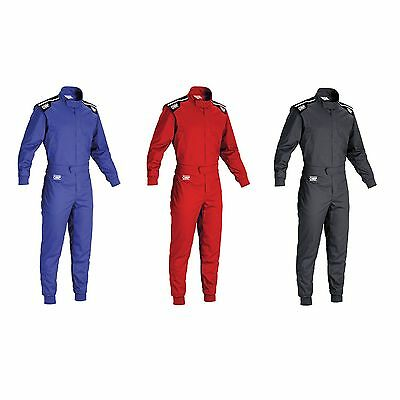 OMP Summer-K 1 Layer Indoor Go Kart / Karting Suit (KK01719)