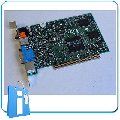 Descompresora Sigma Designs REALmagic EM8300 DVD Decoder PCI Card