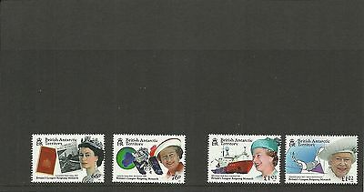British Antarctic Territory 2015 Britains Longest Reigning Monarch Set Mnh