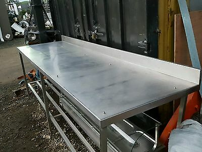Large Stainless Steel Bench butchers Shelf britex made