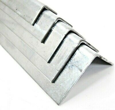 Folded Angle Corner Protector - Galvanized Steel 7 Sizes & 15 Lengths DIY Home