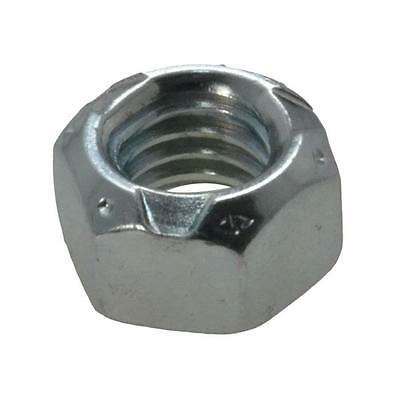 "Pack Size 2 Zinc Plated Conelock 7/16"" UNC Imperial Coarse Grade C Nut"