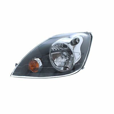 Ford Fiesta MK6 2005-2008 Grey Front Headlight Headlamp N/S Passenger Left