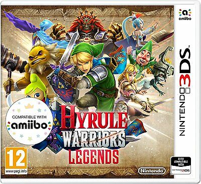 Hyrule Warriors (Nintendo 3DS) BRAND NEW & SEALED FREE P&P