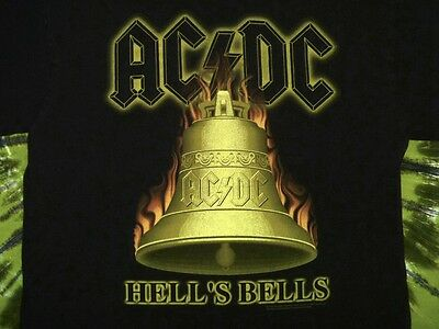 AC/DC Hell's Bells 2000-2001 Tour T-Shirt L