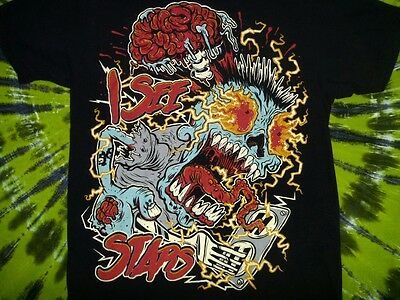 I SEE STARS Electrocution Lessons T-Shirt M