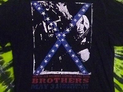 BROTHERS Rebel Stars & Stripes T-Shirt XL SOUTHERN CULTURE ON THE SKIDS