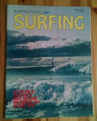 Ultra-Rare INTERNATIONAL SURFING Magazine Aug. 1965 Volume 1, #5 Roger Hulhall