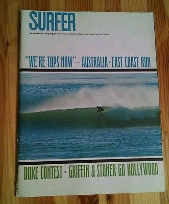 Vintage SURFER Magazine, 1981, Lot of 3 March/April/May Volume 22 No. 3, 4, and 5