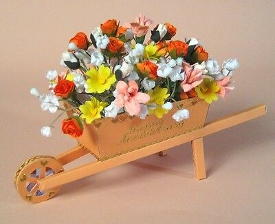A4 Card Making Templates for 3D Wheelbarrow & Display Box by Card Carousel