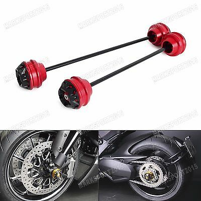 Front & Rear Axle Sliders Protector For Ducati Superbike 1299 Panigale 2015-2016