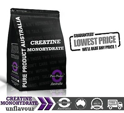 2Kg Pure Creatine Monohydrate Hplc Tested *workout Enhancer