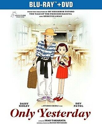 Only Yesterday [New Blu-ray] With DVD, 2 Pack, Slipsleeve Packaging, Snap Case