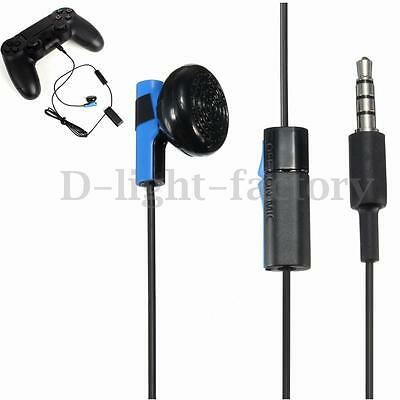 For Sony PS4 PlayStation 4 Controller Headphone Earphone Game Headset w/ Mic