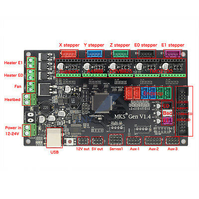 Control motherboard MKS-Gen V1.4 compatible RAMPS 1.4 3D Printer Control board