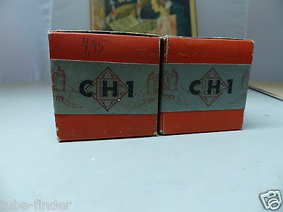 CH1 Telefunken  in sealed BOX unused Tube Valvola Röhre (2)