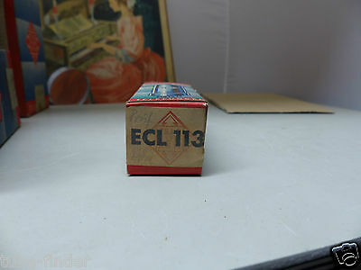 ECL113 Telefunken  in sealed BOX unused Tube Valvola Röhre