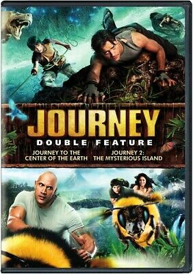 Journey to the Center of the Earth / Journey 2 [New DVD] 2 Pack, Eco Amaray Ca