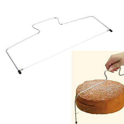 Stainless Steel Cake Slicer Bread Kitchenware Bakeware Accessories Tools Kit