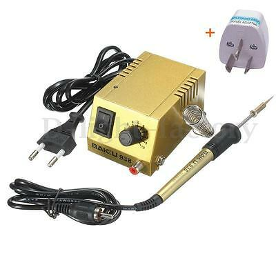 240V 18W Mini Soldering Iron Station Solder Safe Welding Heating Tool Kit BK-938